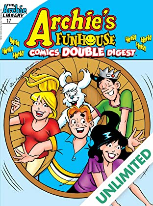 Archie's Funhouse Comics Double Digest #17